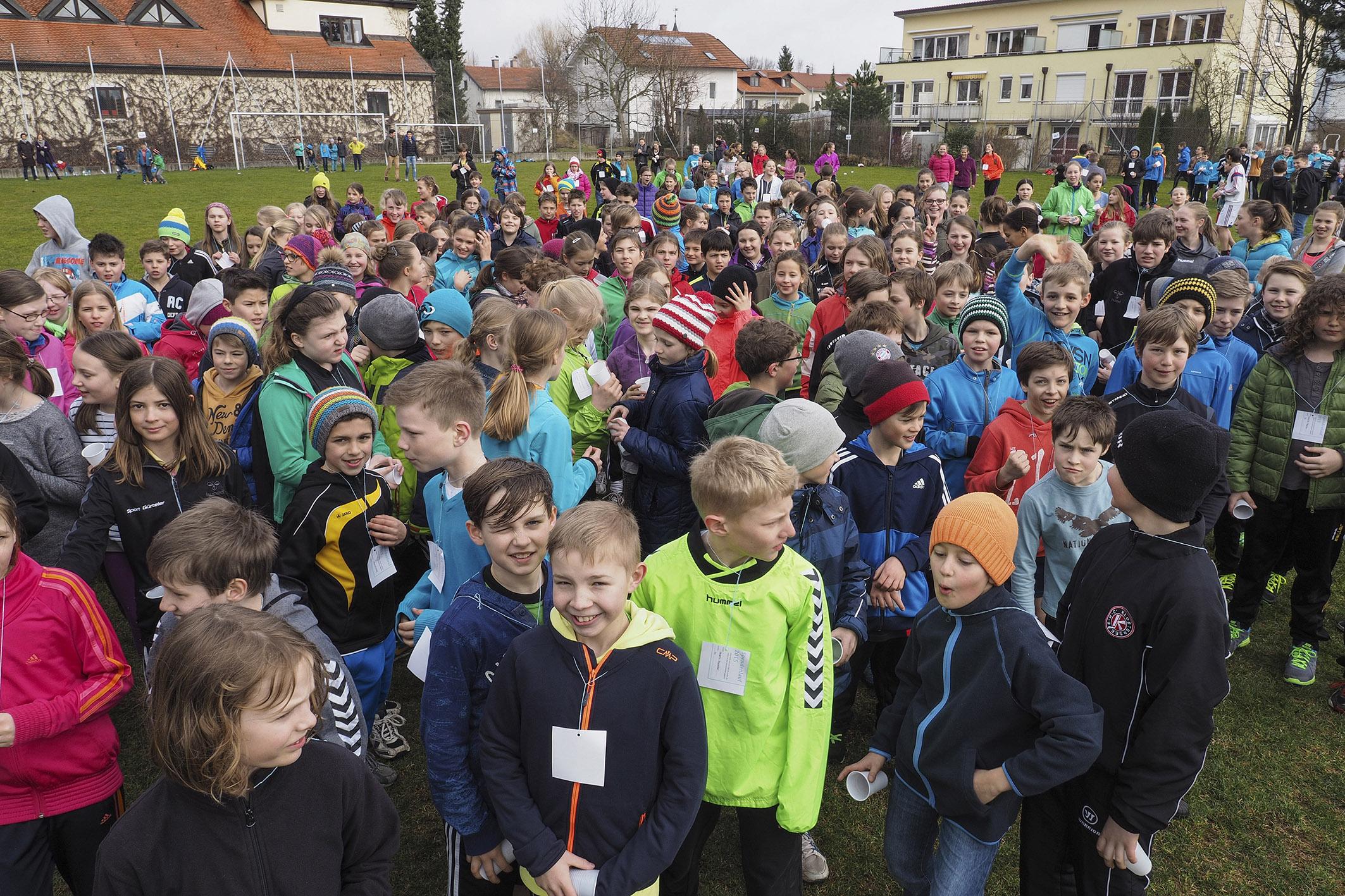 Gymnasium Grafing Sponsorenlauf für EFI 2015