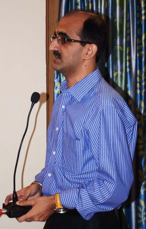 Haridwar 2012: Rajiv Bhalla, die treibende Kraft des Rotary-Clubs